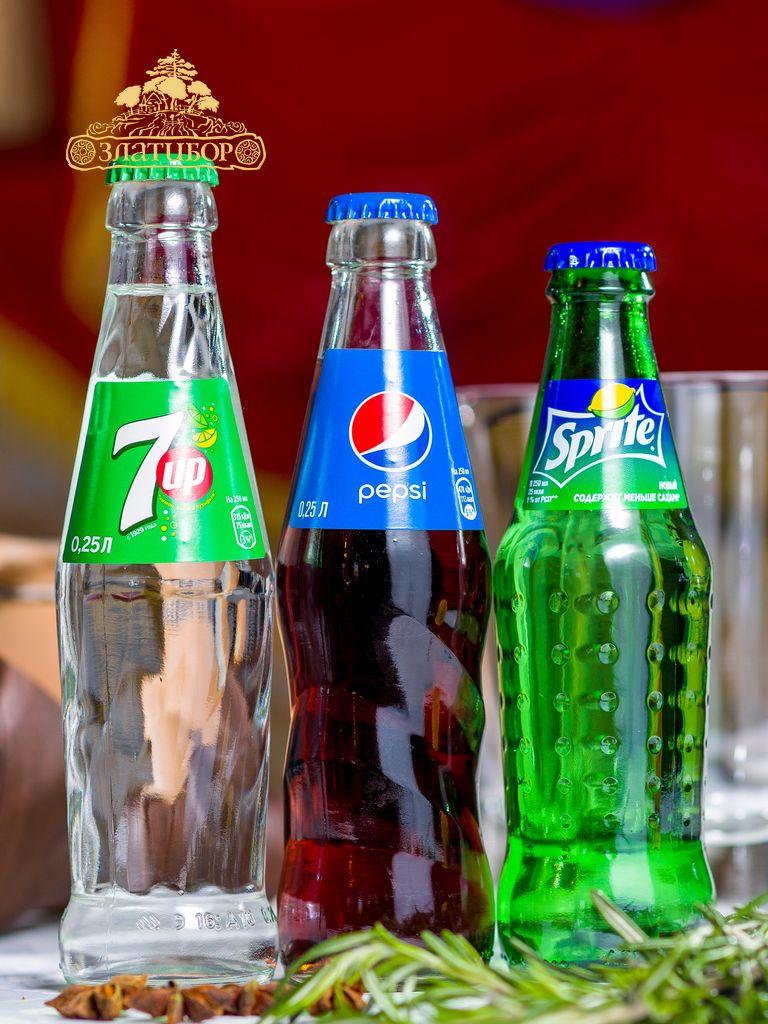 Севен ап, Пепси, Спрайт