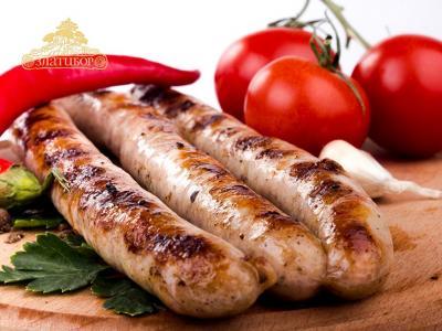 Сырокопченые колбаски